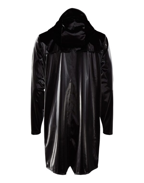 Rains Mehed ja Naised Ülerõivad Long Jacket Velvet Black 1202-29