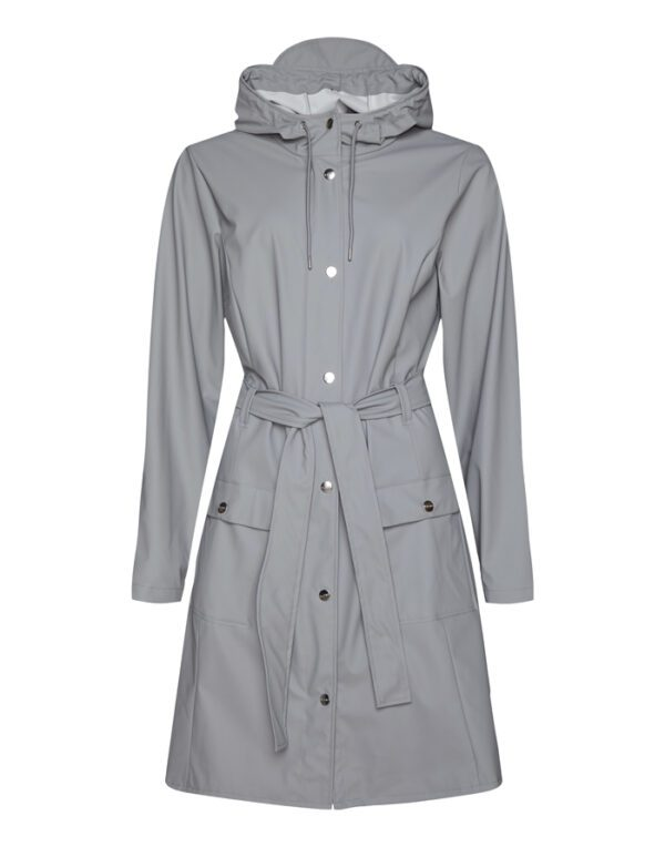 Rains Outerwear for  and Women Curve Jacket Rock 1206-16