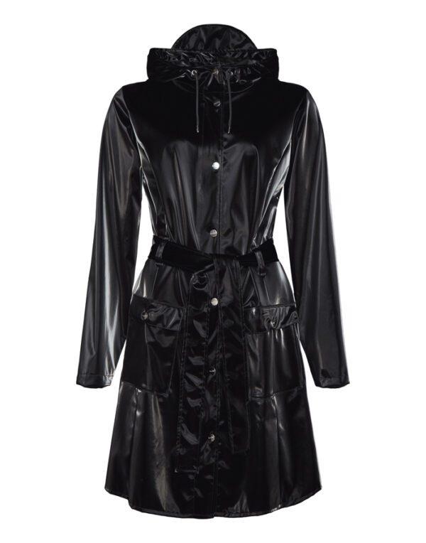 Rains Outerwear for  and Women Curve Jacket Velvet Black 1206-29