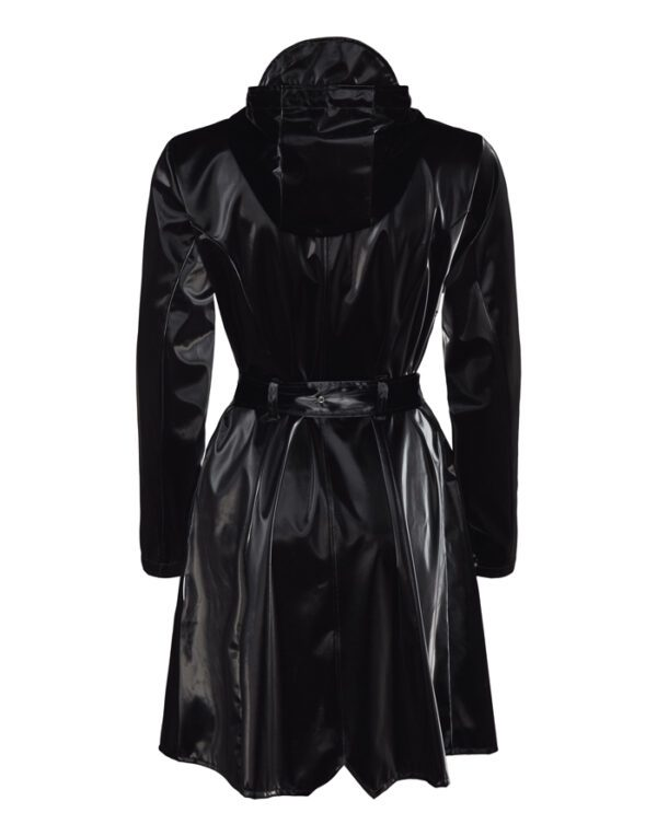 Rains  ja Naised  Curve Jacket Velvet Black 1206-29