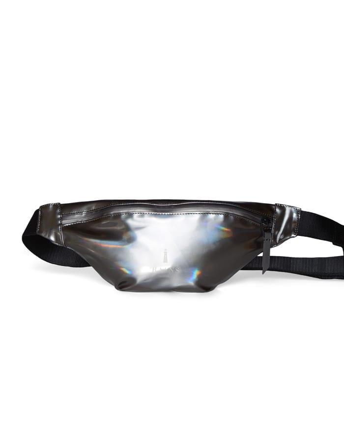 Rains Waist bags Bum Bag Mini Holographic Steel
