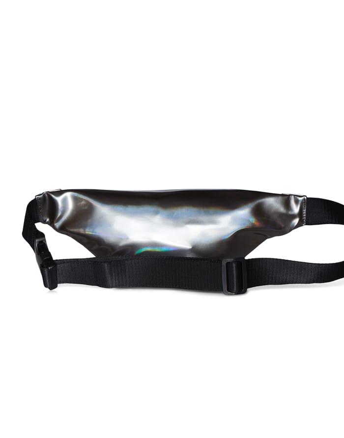 Rains Vöökotid Bum Bag Mini Holographic Steel