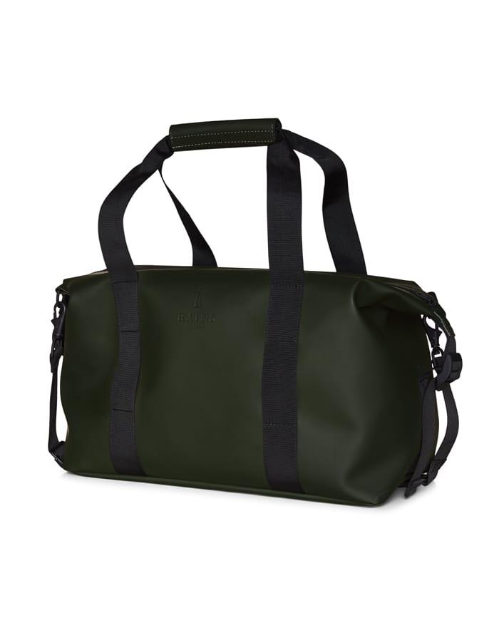 Rains Spordi- ja reisikotid Weekend Bag Small Green