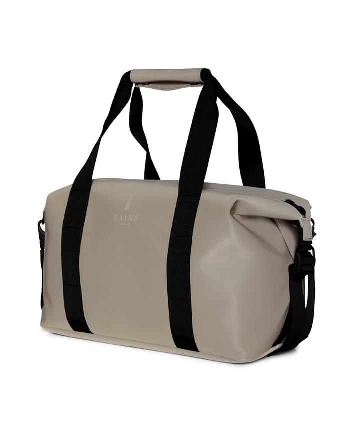Rains Spordi- ja reisikotid Weekend Bag Small Velvet Taupe