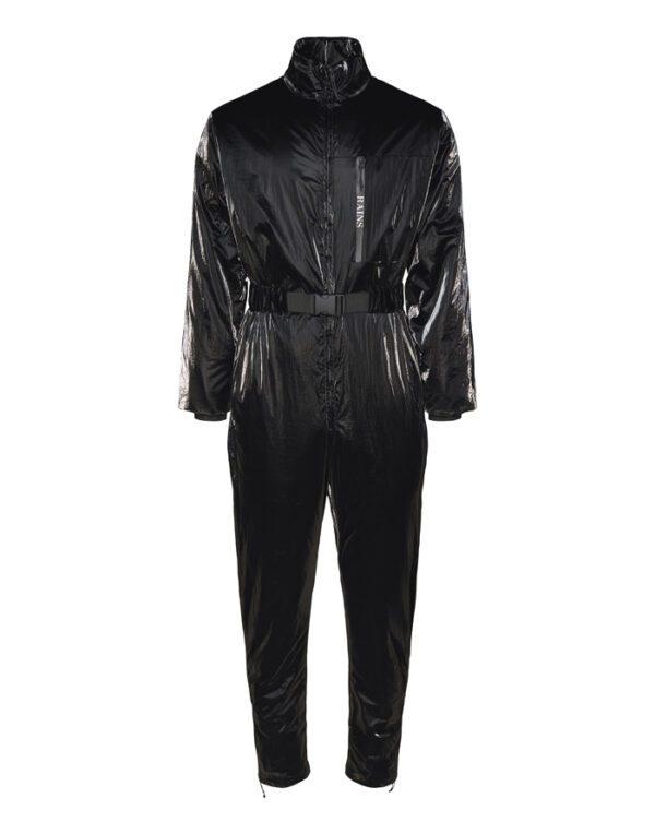 Rains Jumpsuits for Men and Women Drifter Jumpsuit Black 1535-01