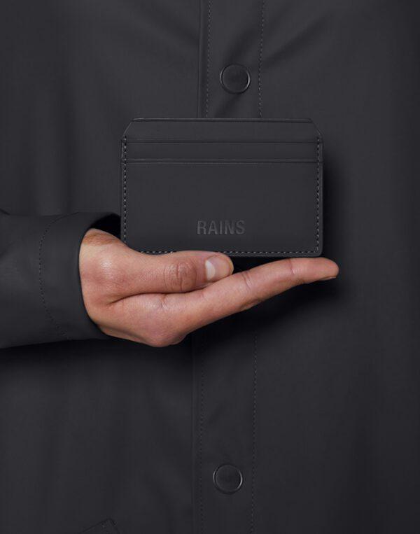 Rains  Card Holder Black