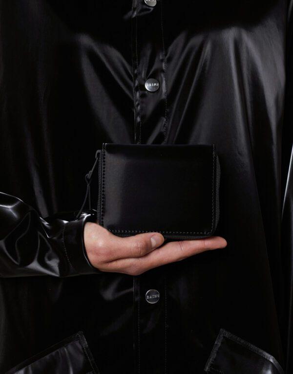 Rains  Small Wallet Velvet Black