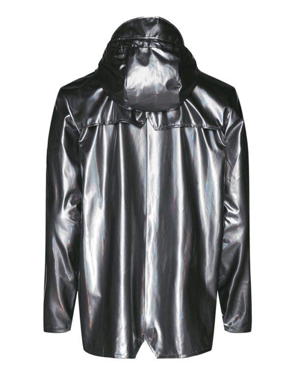 Rains Mehed ja Naised Ülerõivad Jacket Holographic Steel 1801-52