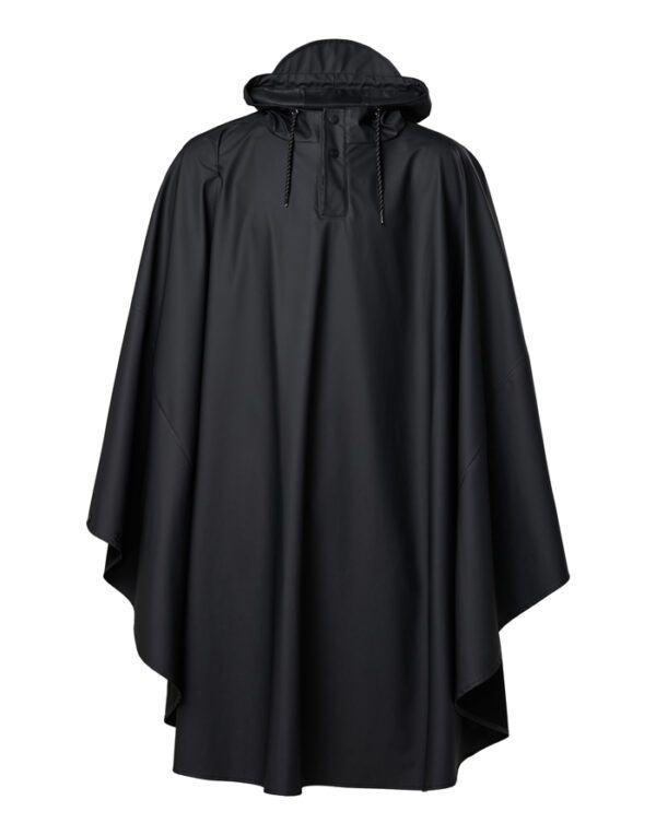 Rains Outerwear for Men and Women Cape Black 1811-01