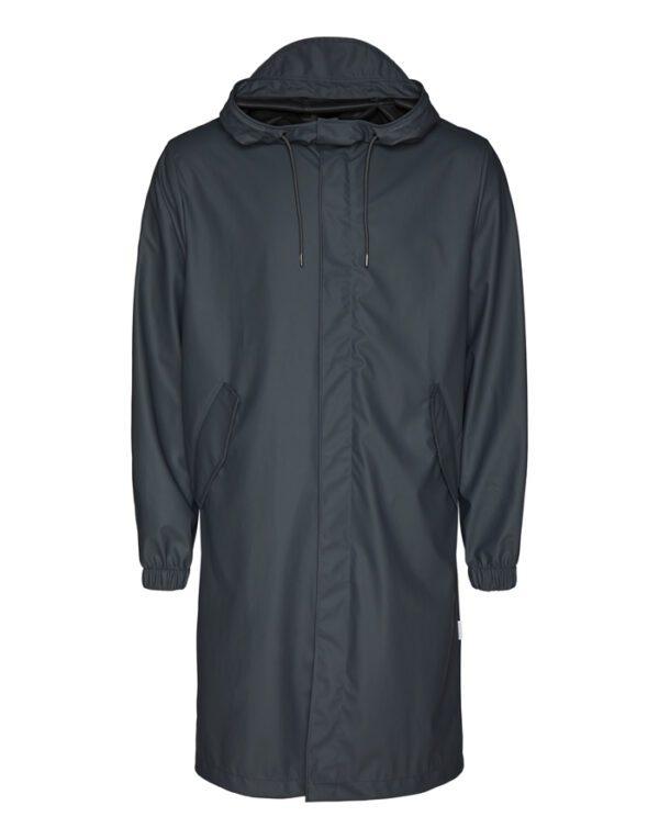 Rains Outerwear for Men and Women Fishtail Parka Slate 1814-05