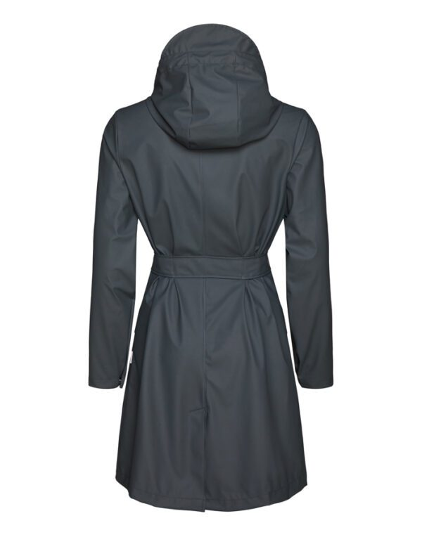 Rains  ja Naised  Belt Jacket Slate 1824-05