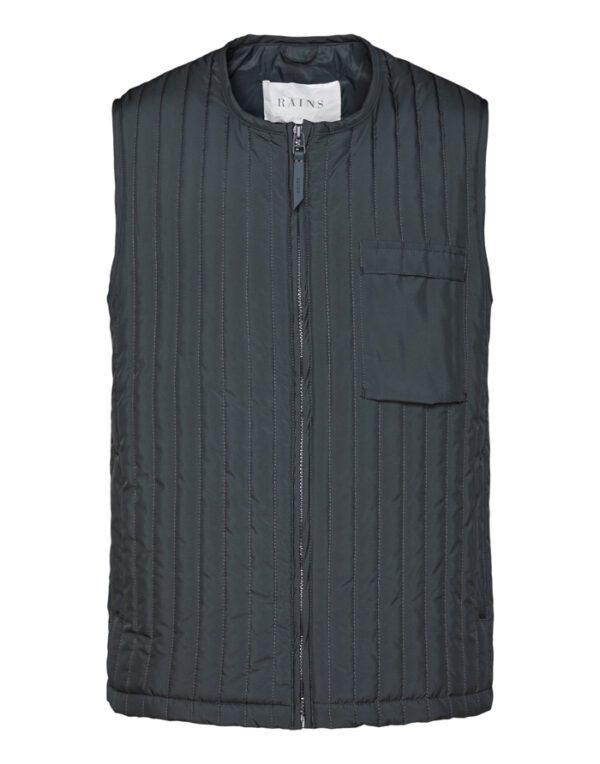 Rains Outerwear for Men and Women Liner Vest Slate 1832-05