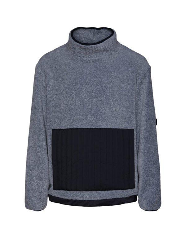 Rains Sweaters & Hoodies for Men and Women Fleece High Neck Heather Grey 1850-41