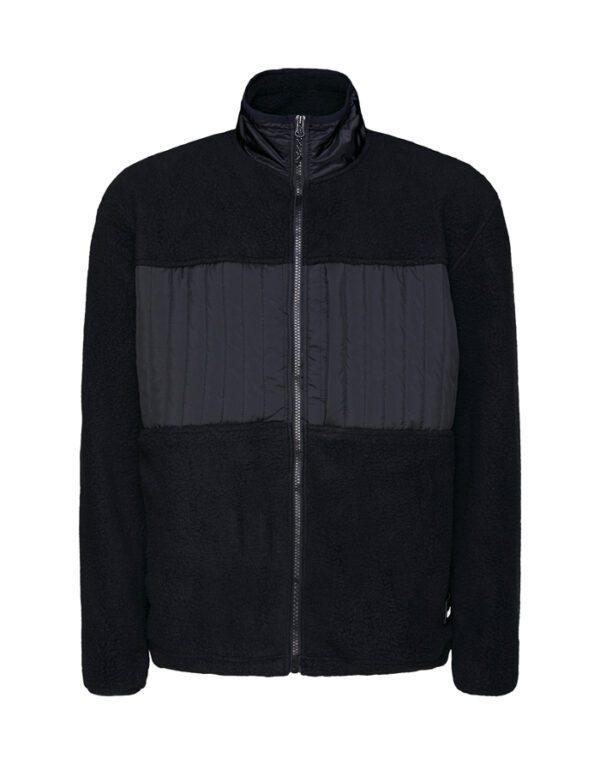Rains Outerwear for Men and Women Fleece Jacket Black 1852-01