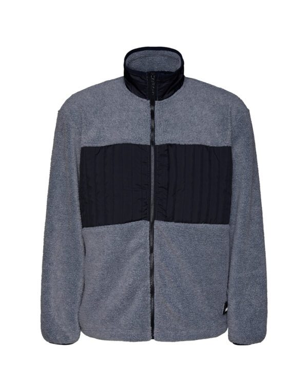Rains Outerwear for Men and Women Fleece Jacket Heather Grey 1852-41