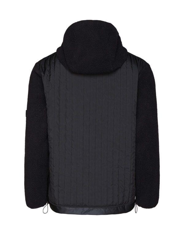 Rains Mehed ja Naised Kampsunid ja Pusad Fleece Pullover Hoodie Black 1853-01