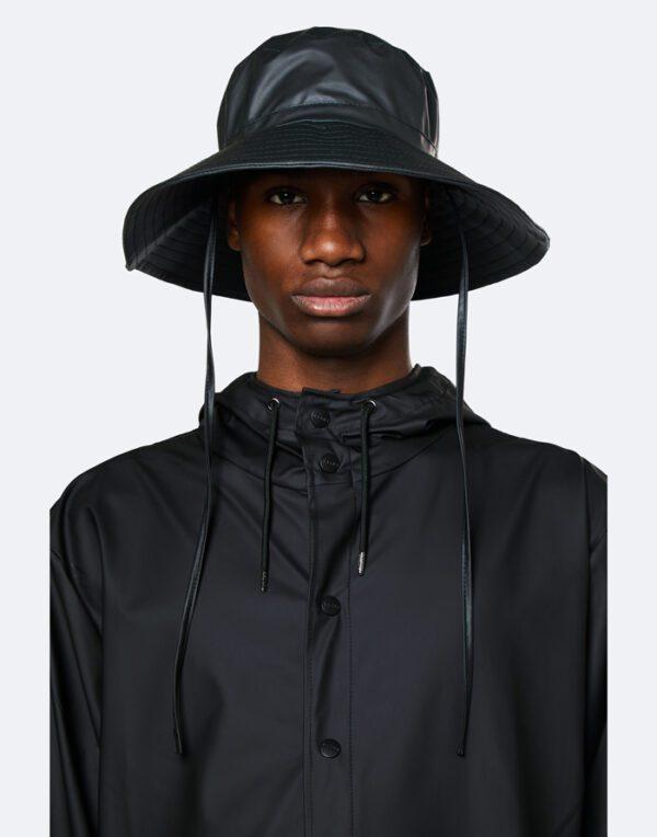 Rains  ja Aksessuaarid  Boonie Hat Black 2003-01