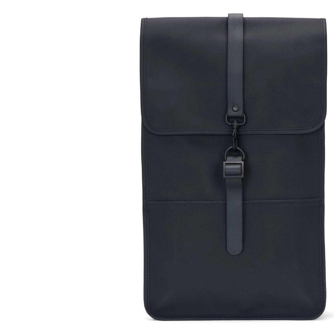 Rains Backpack Black – waterproof stylish backpacks at WATCH WEAR online store