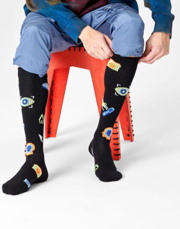 Happy Socks   Technology Knee High Sokid ATTEC03-9300
