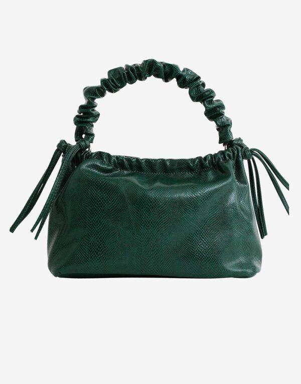 Hvisk Väikesed kotid Arcadia Snake Sea Moss Green
