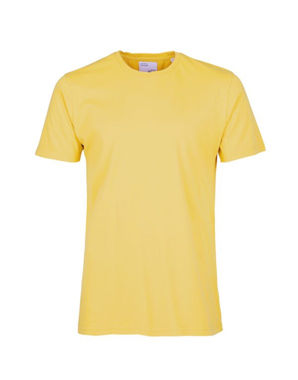 Colorful Standard T-shirts Classic Organic Tee Lemon Yellow CS1001 Lemon Yellow