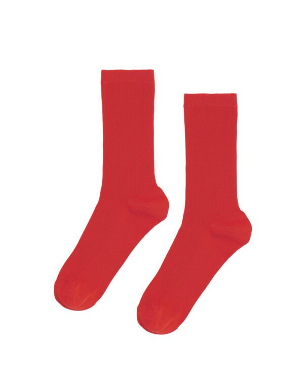 Colorful Standard Socks Classic Organic Sock Scarlet Red CS6001 Scarlet Red
