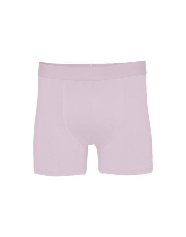 Colorful Standard Men's Underwear Classic Organic Boxer Briefs Faded Pink CS7001 Faded Pink