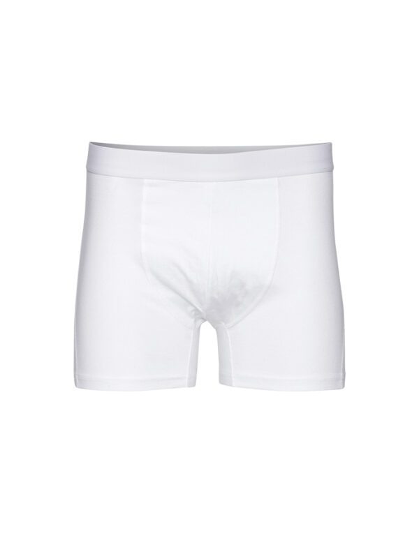 Colorful Standard Men's Underwear Classic Organic Boxer Briefs Optical White CS7001 Optical White