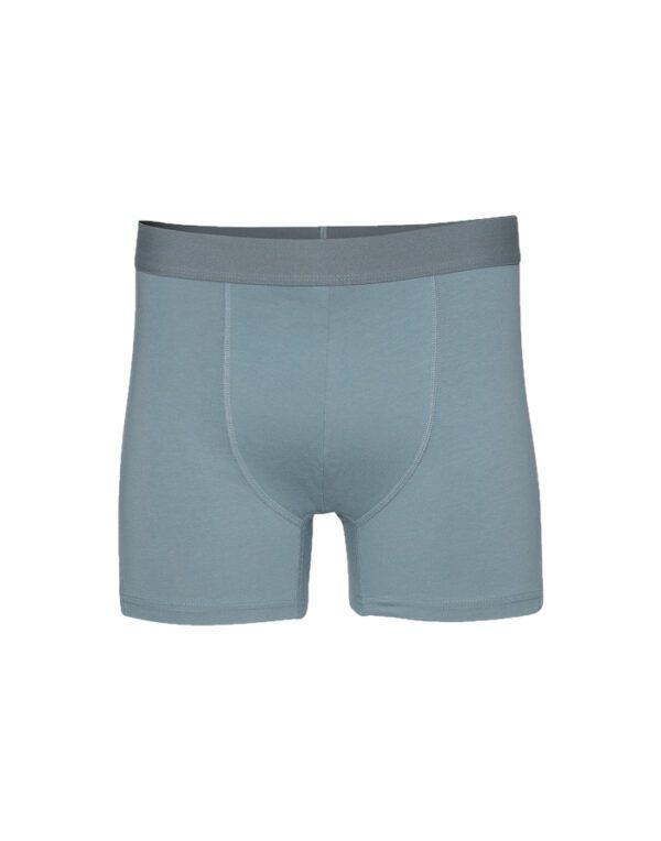 Colorful Standard Men's Underwear Classic Organic Boxer Briefs Stone Blue CS7001 Stone Blue