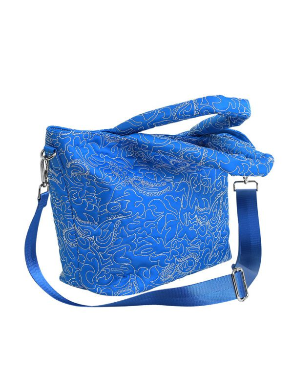 Hvisk Bags Valley Medium Paisley Victoria Blue