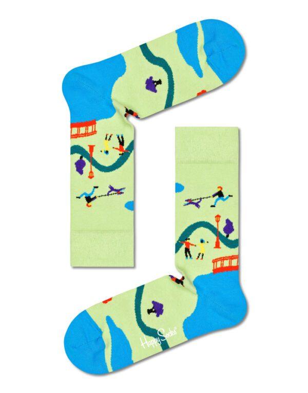 Happy Socks   Walk In The Park Sock WAP01-7000