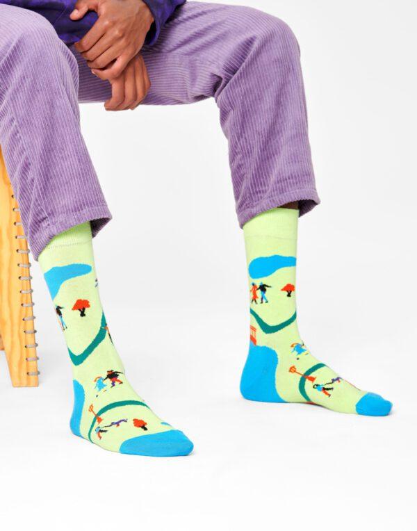 Happy Socks   Walk In The Park Sokid WAP01-7000