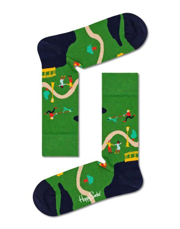 Happy Socks   Walk In The Park Sock WAP01-7500