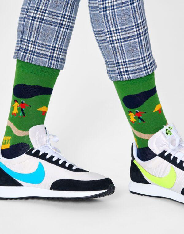 Happy Socks   Walk In The Park Sokid WAP01-7500