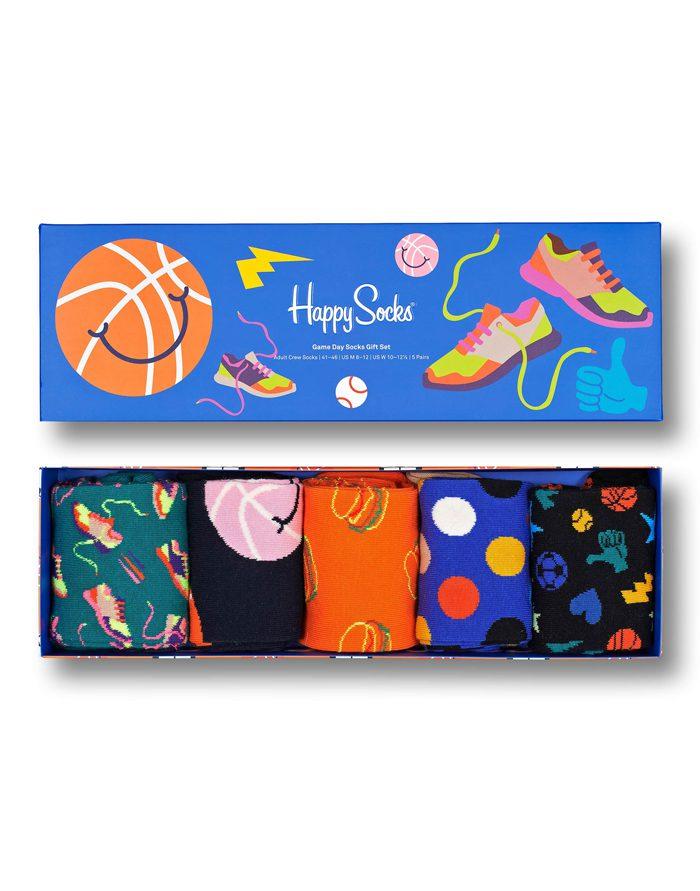 Happy Socks Gift Boxes  5-Pack Game Day Socks Gift Set XGAM44-6300