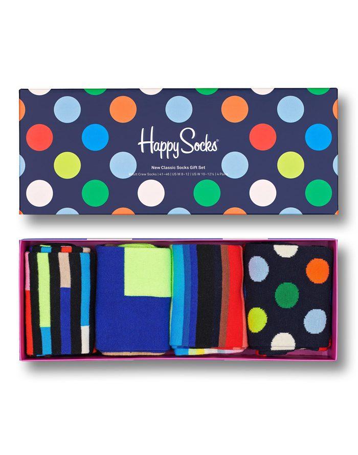 Happy Socks Gift Boxes  4-Pack New Classic Socks Gift Set XNCG09-9300