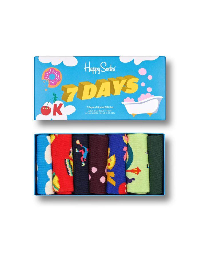 Happy Socks Gift Boxes  7 Day Socks Gift Set XSEV15-0200