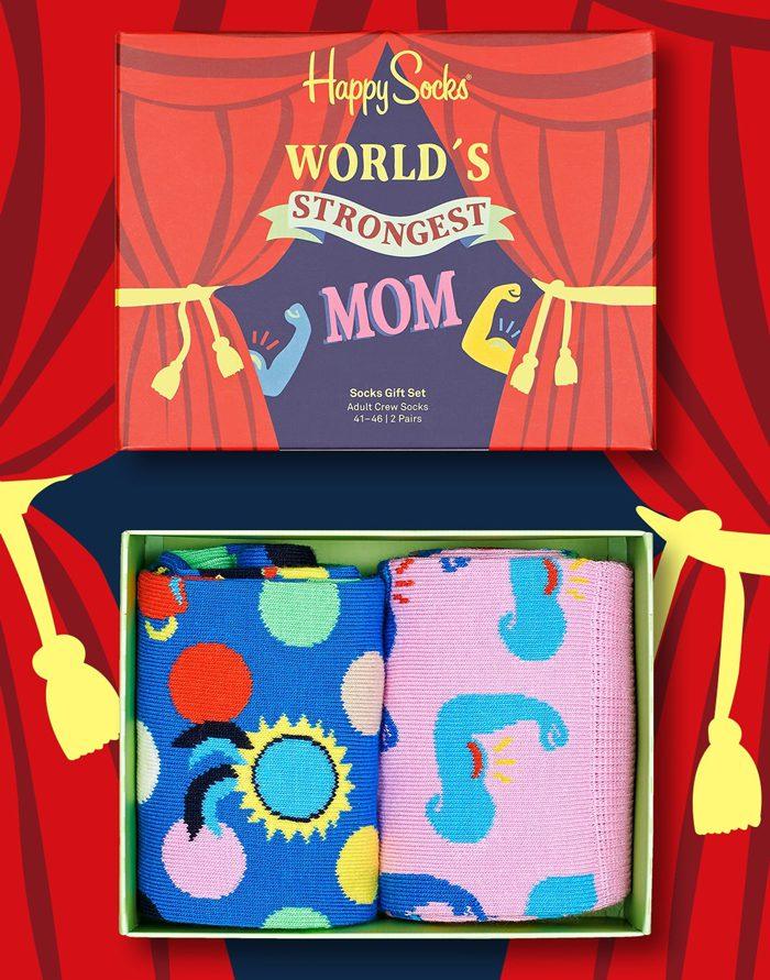 Happy Socks Gift Boxes  2-Pack Mother´s Day Socks Gift Set XMOT02-9300