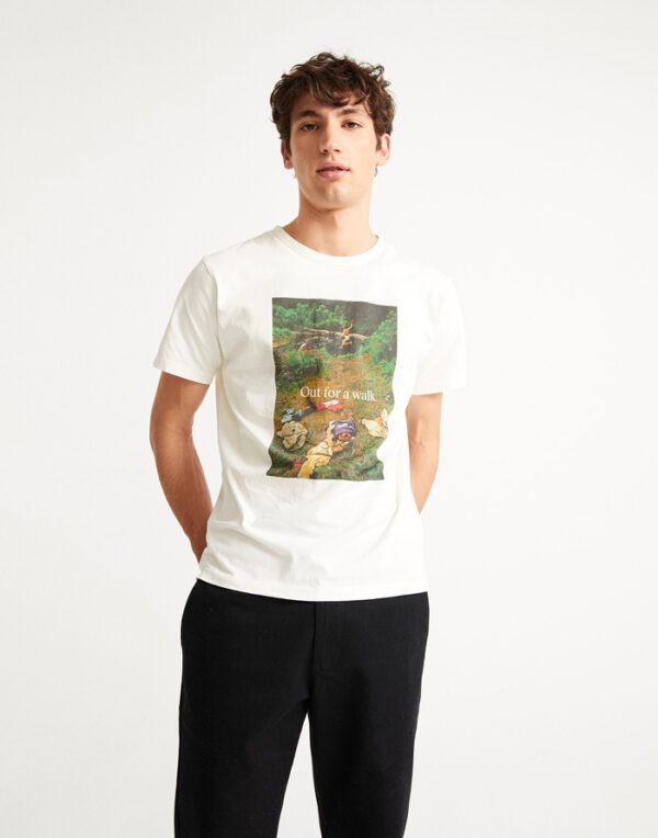 Thinking MU Men Out For A Walk T-shirt