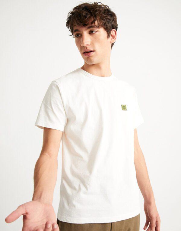 Thinking MU Mehed T-särgid Sol White T-shirt
