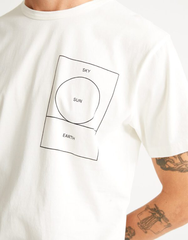 Thinking MU Mehed T-särgid Ryan Carl Sun T-shirt