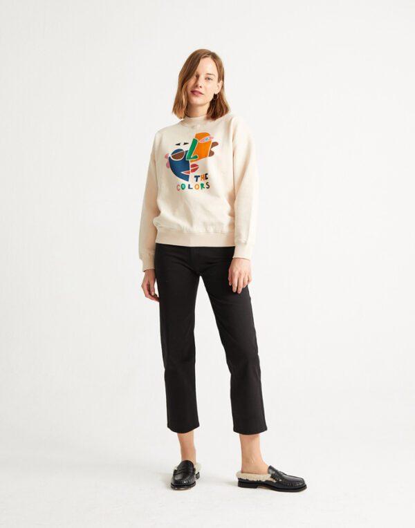 Thinking MU Naised Kampsunid ja pusad The Colors Sweatshirt