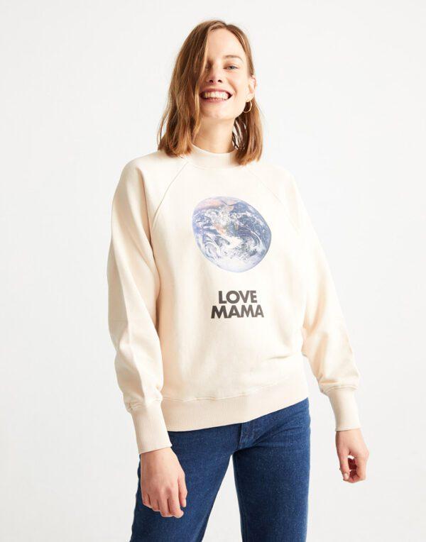 Thinking MU Women Love Mama Sweatshirt