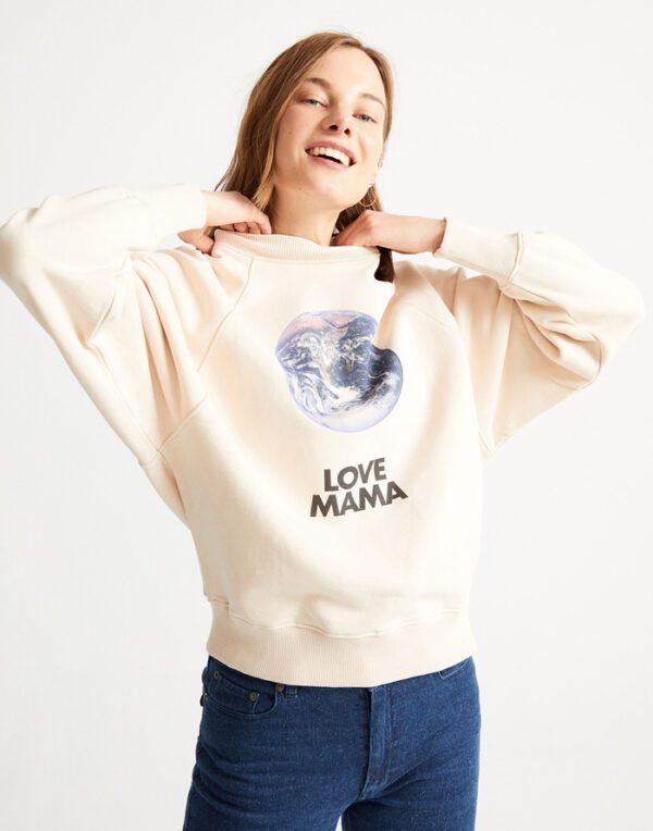 Thinking MU Naised Kampsunid ja pusad Love Mama Sweatshirt