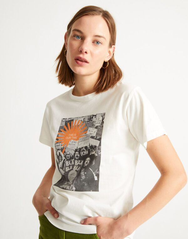 Thinking MU Women This Is Our Time T-shirt
