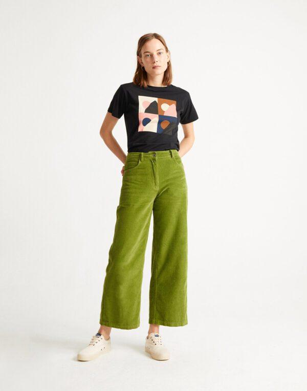 Thinking MU Naised T-särgid Black Med T-shirt