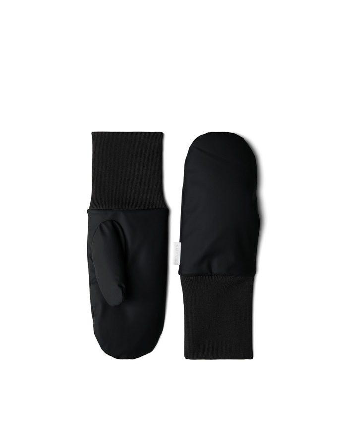 Rains Gloves  Mittens Padded Black 1670-01