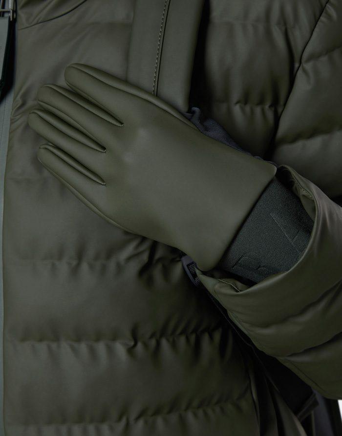Rains Kindad  Gloves Green Nutikindad 1672-03