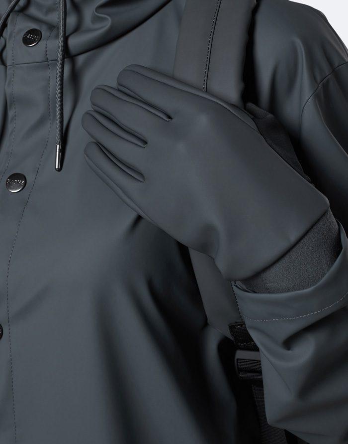 Rains Kindad  Gloves Slate Nutikindad 1672-05