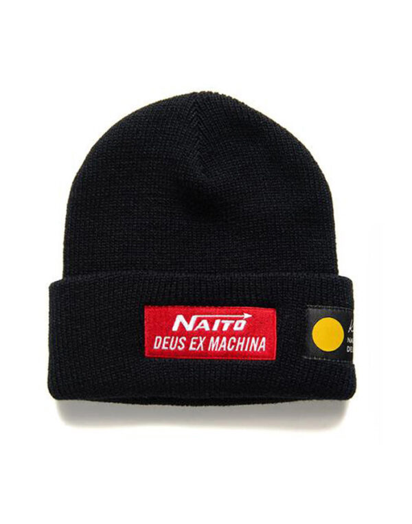 Deus Ex Machina Accessories Hats Naito Beanie Black DMF207668